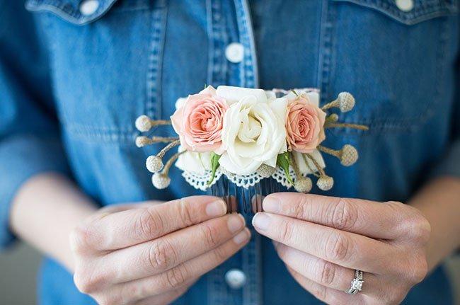 Сделать цветы своими руками на заколки