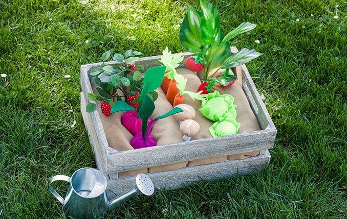 Огород своими руками детям 36