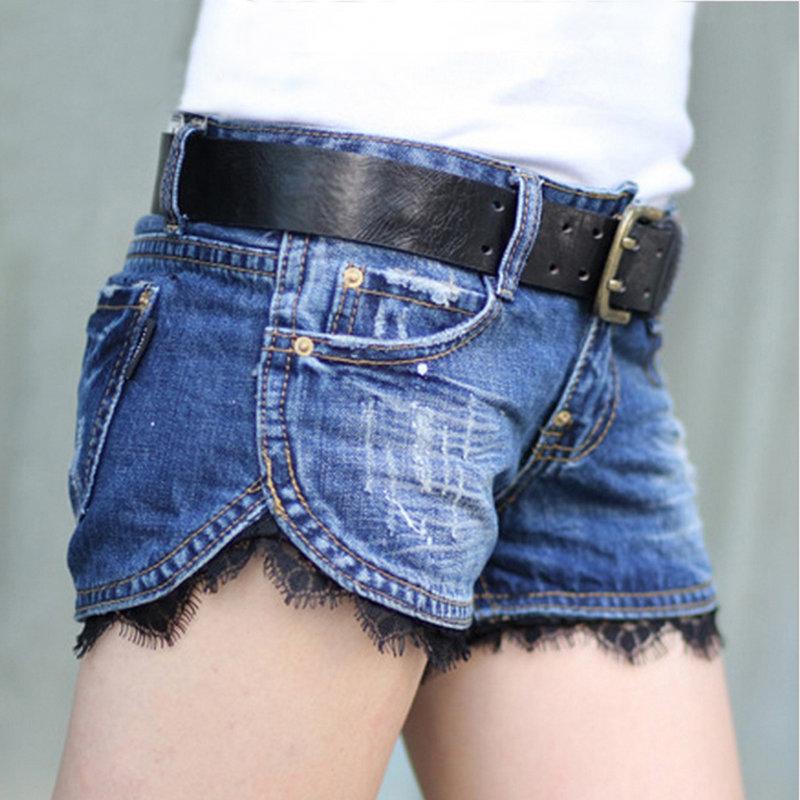 Короткие шорт из джинс своими руками 32