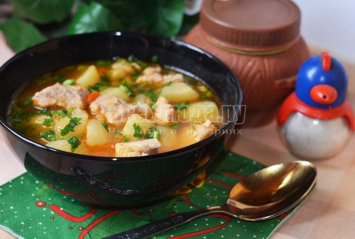 Как приготовить соус с картошкой и мясом пошаговый рецепт