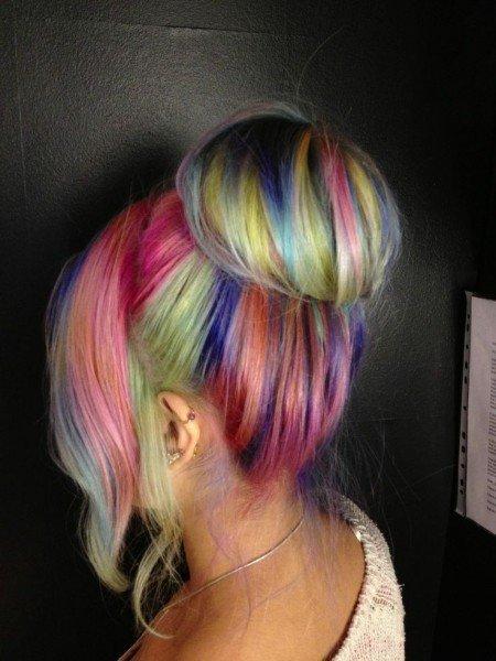 Фото волосы цвет прическа