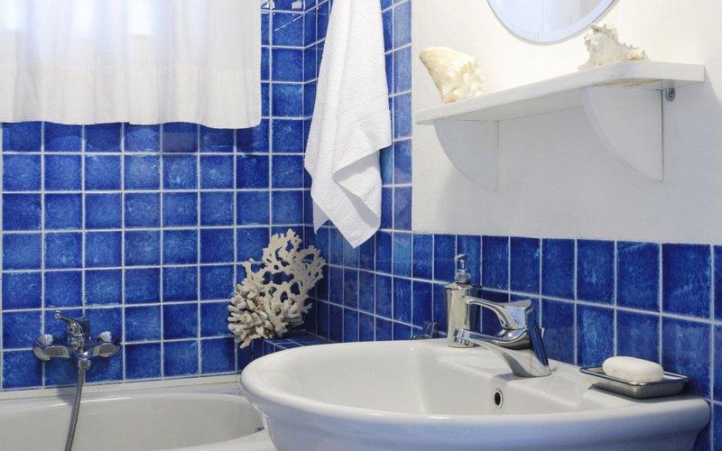 Ванные комнаты синие дизайн