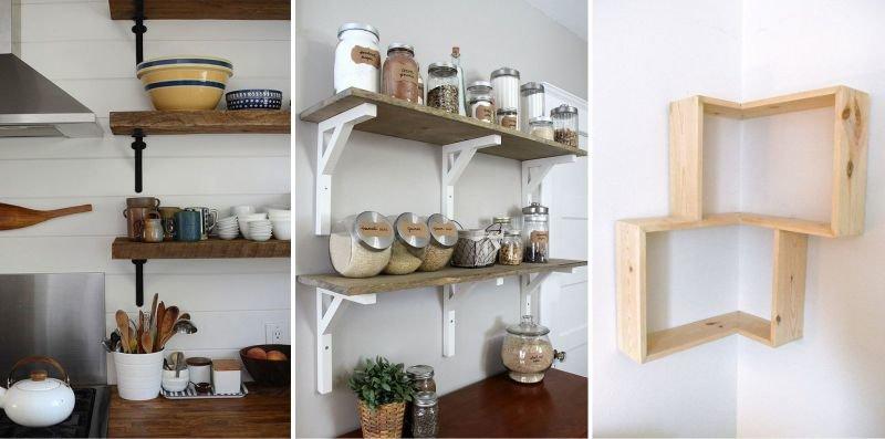 Декоративные полки на кухню своими руками фото 45