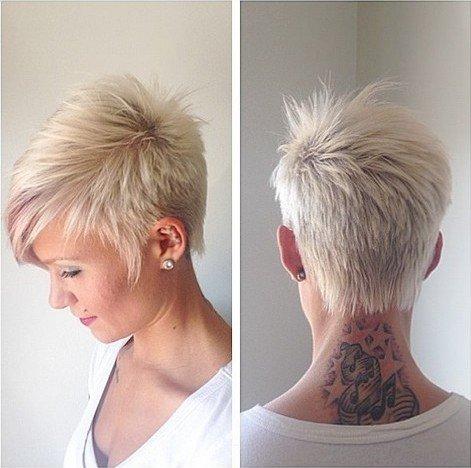 Модные женские стрижки на коротких волосах