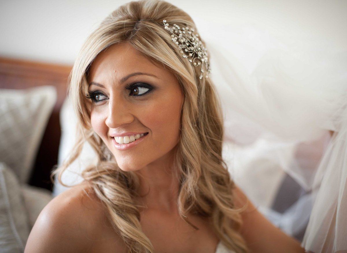Makeup pictures for wedding day Wedding Reception Decorations, Pictures and Ideas