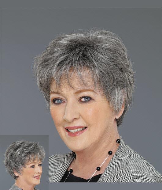 Фото стрижек для бабушек на короткие волосы