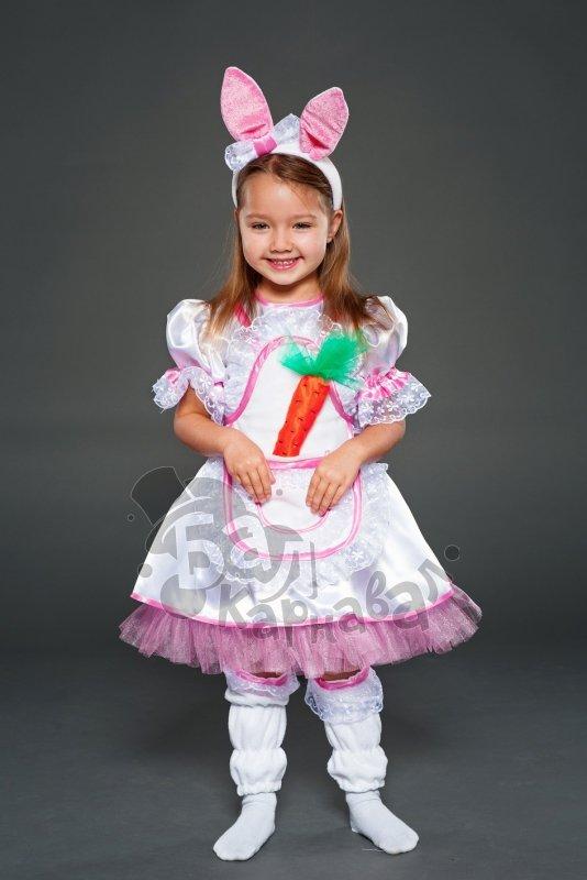 Новогодний костюм зайчика своими руками для девочек