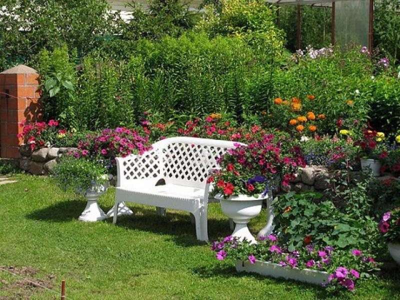 Как сделать сад на даче фото