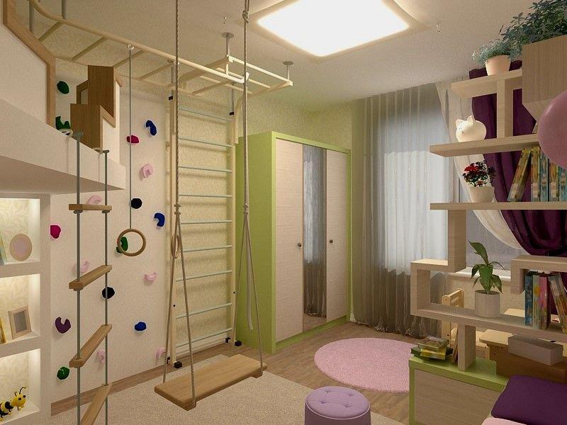 Квартиры детской дизайн