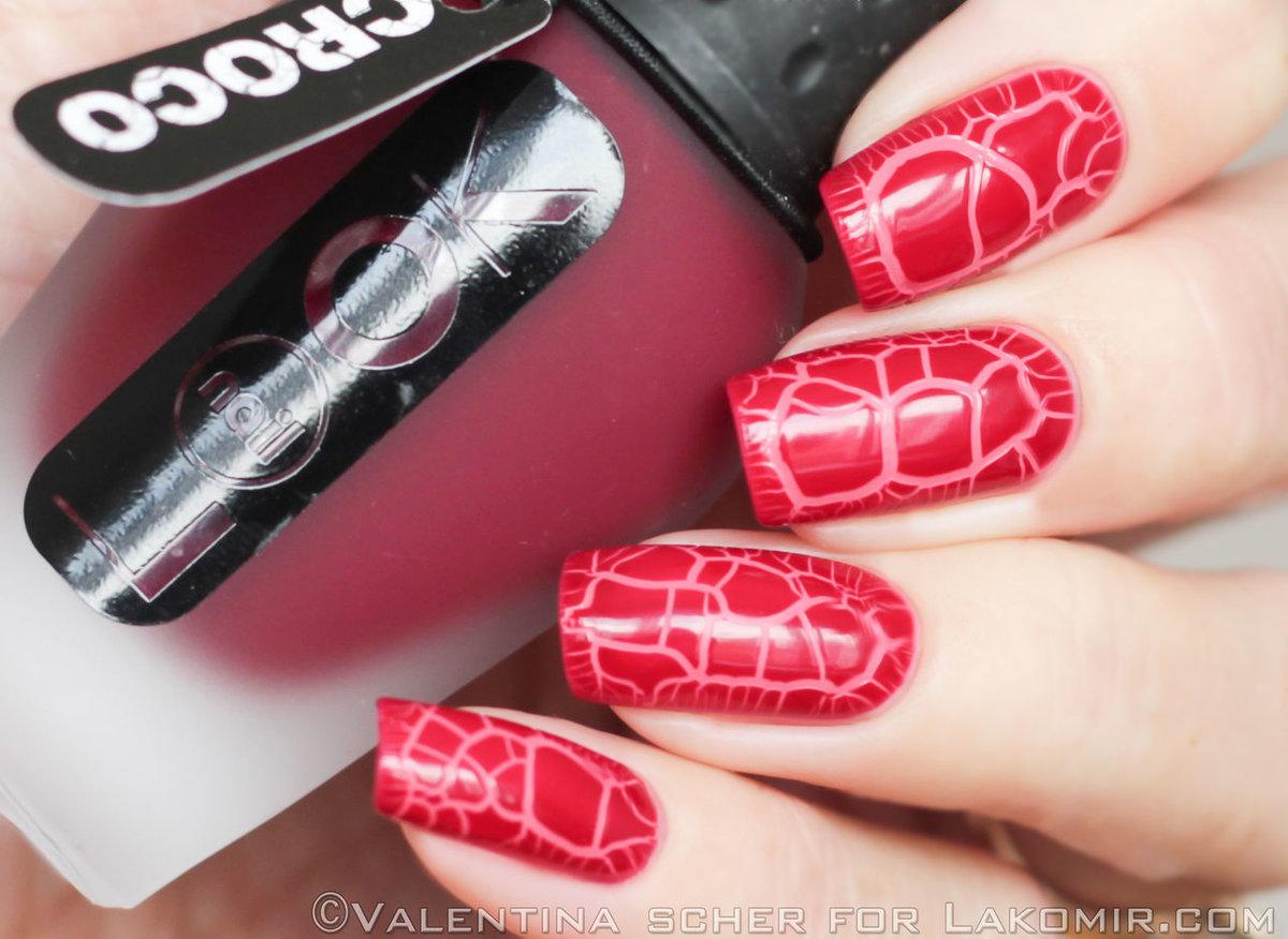 Кракелюр на ногтях фольгой: фото, особенности техники 90