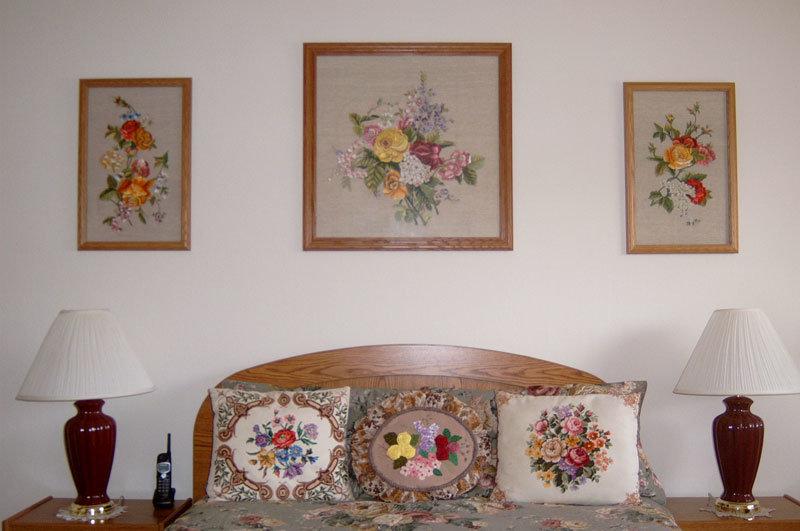 Фото интерьеров с вышивками