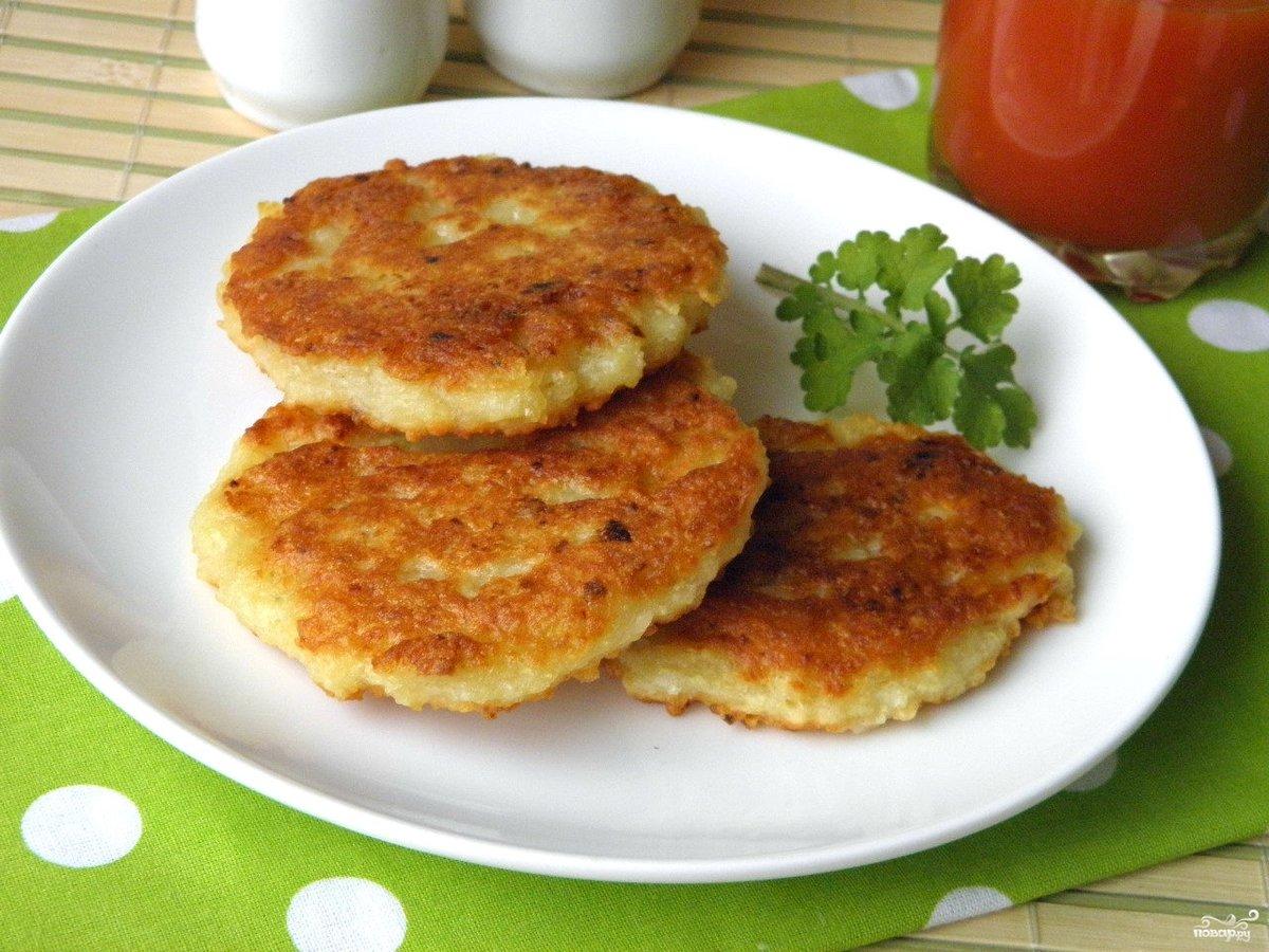 Драники картофельные с сыром рецепт пошаговый