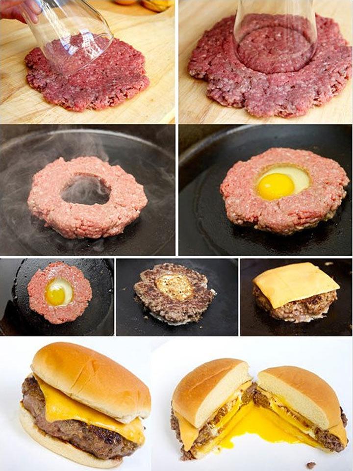 Гамбургер в домашних условиях с котлетой 424