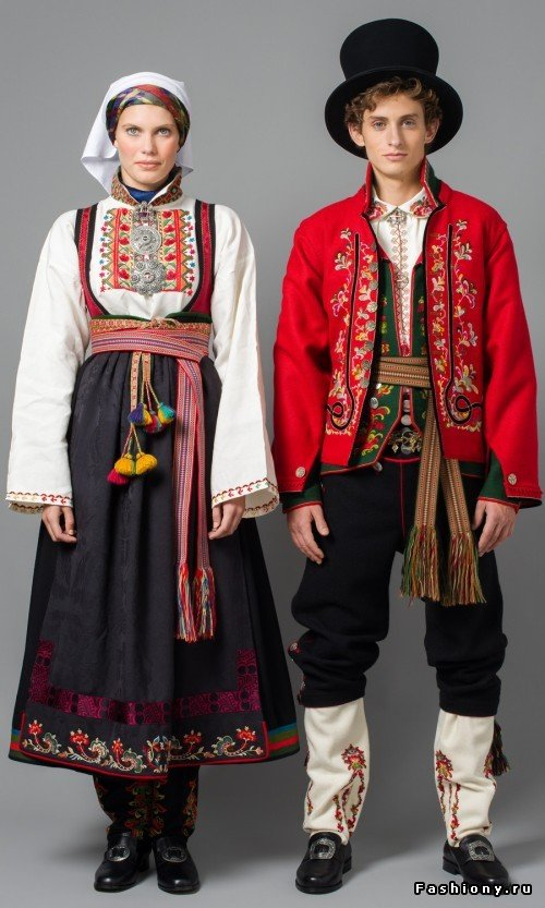 Национальная норвежская одежда