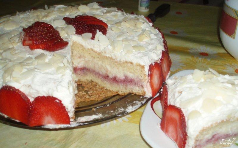 Крем с клубникой для торта рецепт с пошагово в домашних