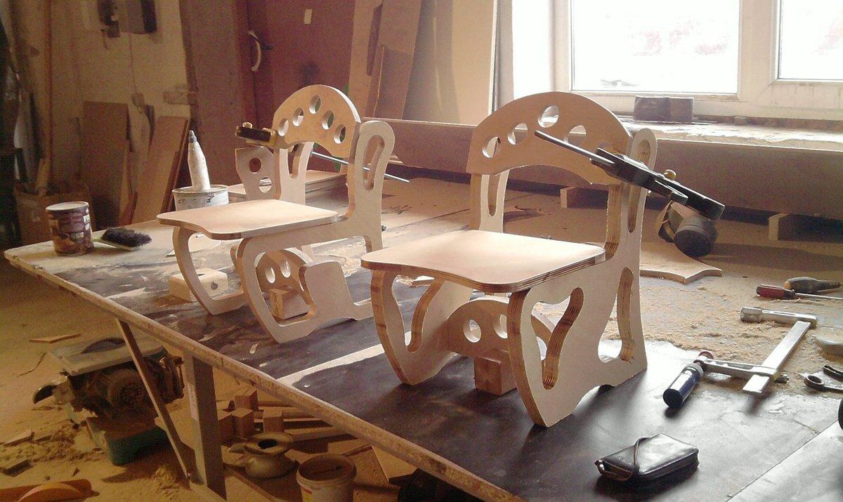 Бизнес мебель из фанеры своими руками