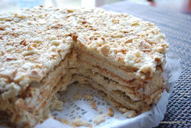 Рецепт рубленого торта