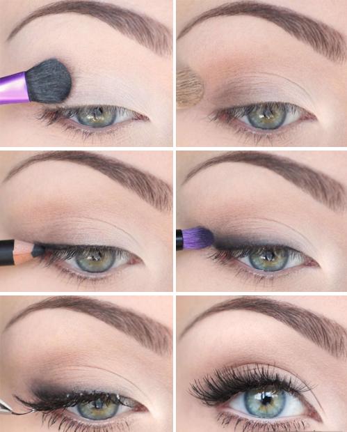Самый легкий макияж для глаз