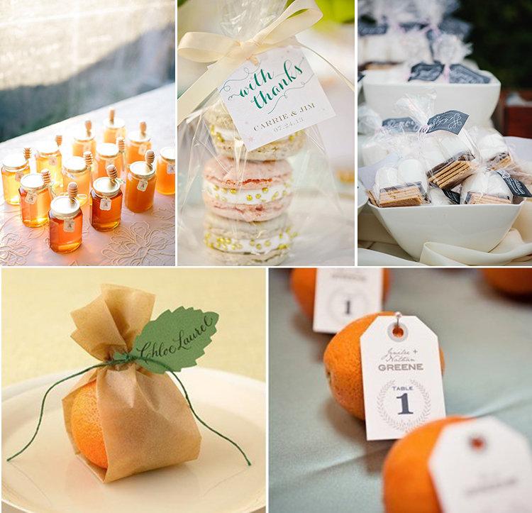 Недорогие подарки гостям на свадьбе 66