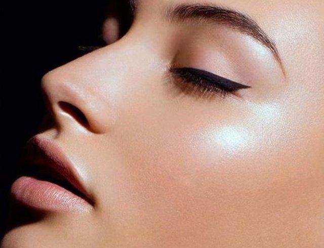 Как сделать кож сияющей