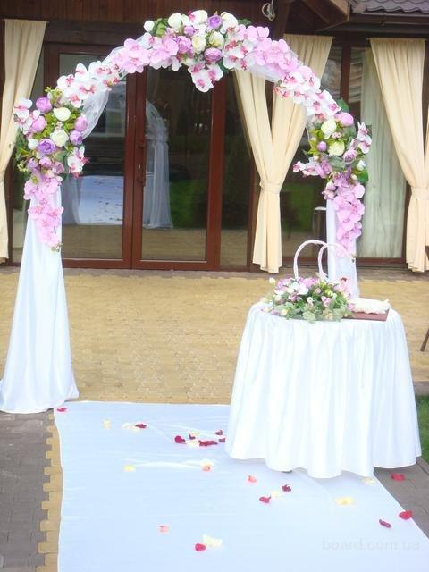 Недорогая свадебная арка своими руками