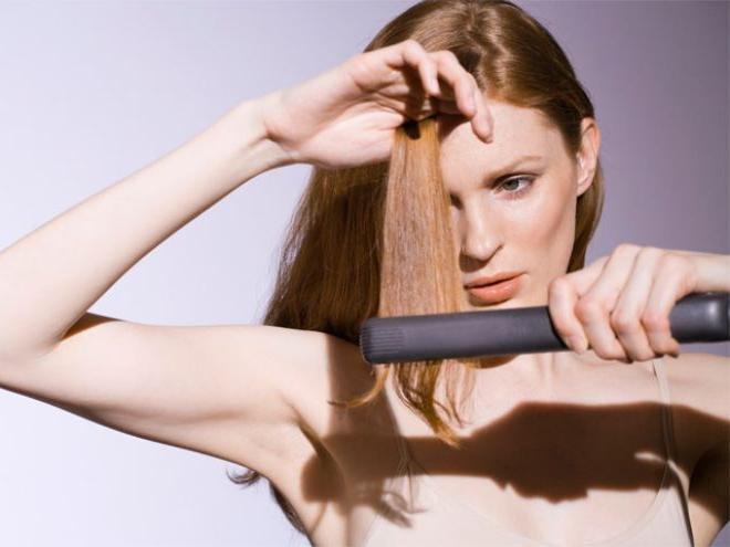 Как выпрямит волосы навсегда в домашних условиях