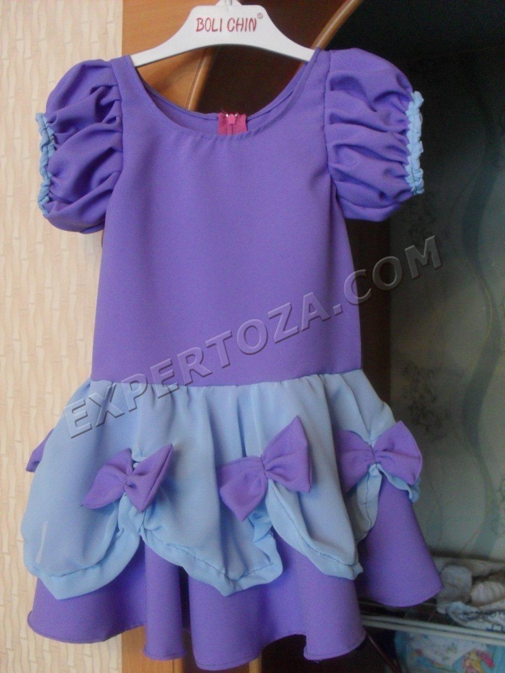 Детские платья сшить самим быстро и просто. Часть 1