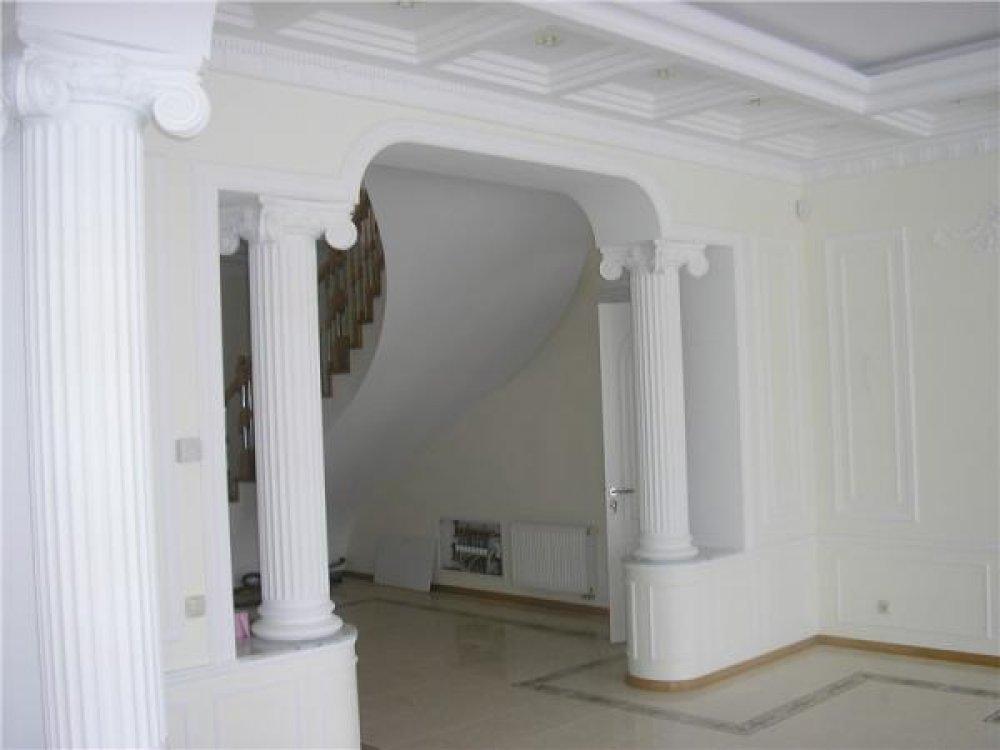 Колоннами в домашних условиях 572