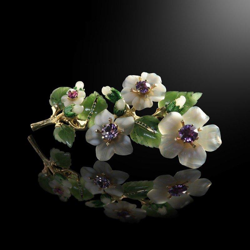 Цветы от ювелира