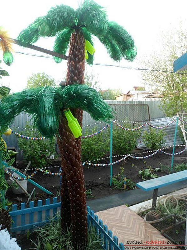 Пальма своими руками в детский сад