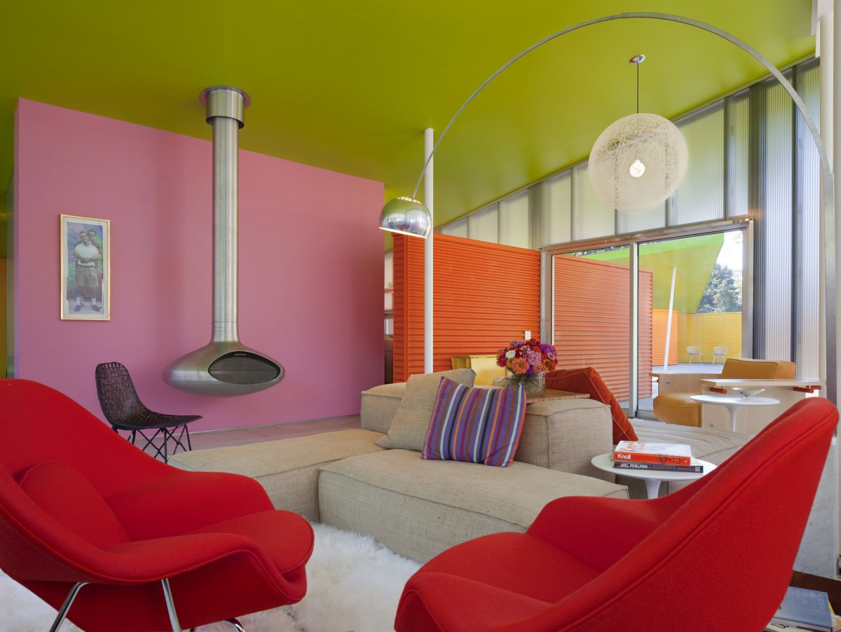 Красим стены в квартире дизайн