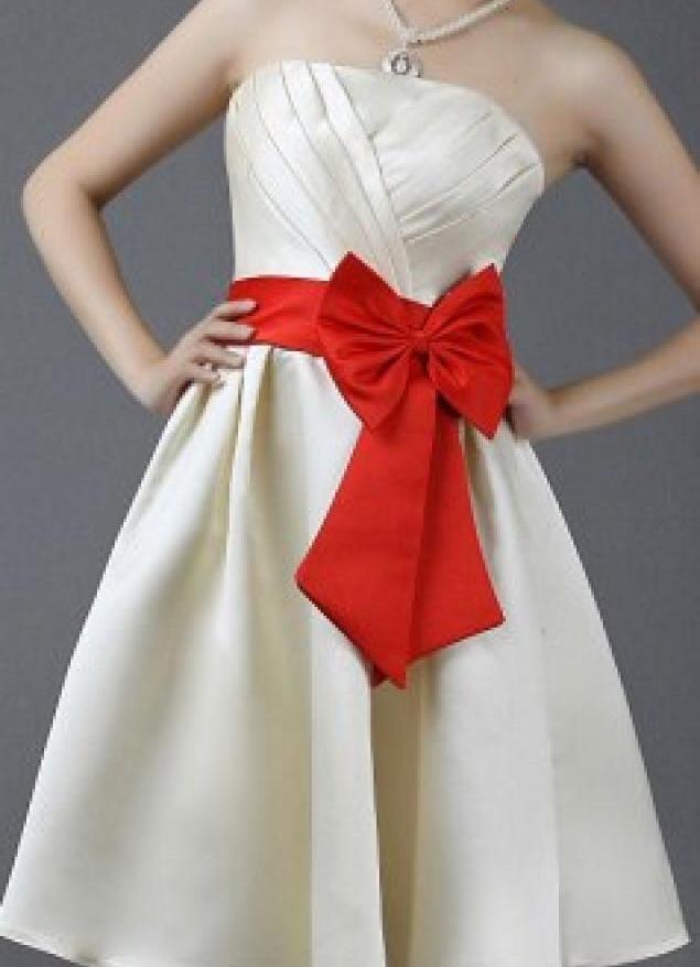 Как сделать пояс для платья своими руками