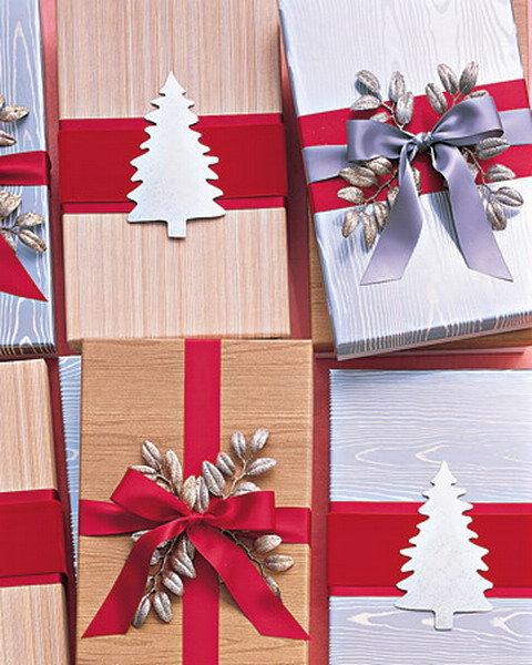 Оформить подарок по новогоднему 83