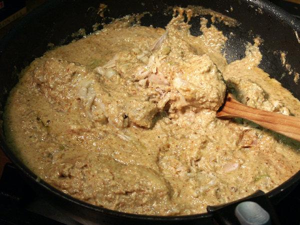 Сациви из говядины по-грузински пошаговый рецепт с фото