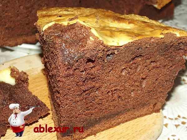 Простой пирог с какао рецепты с