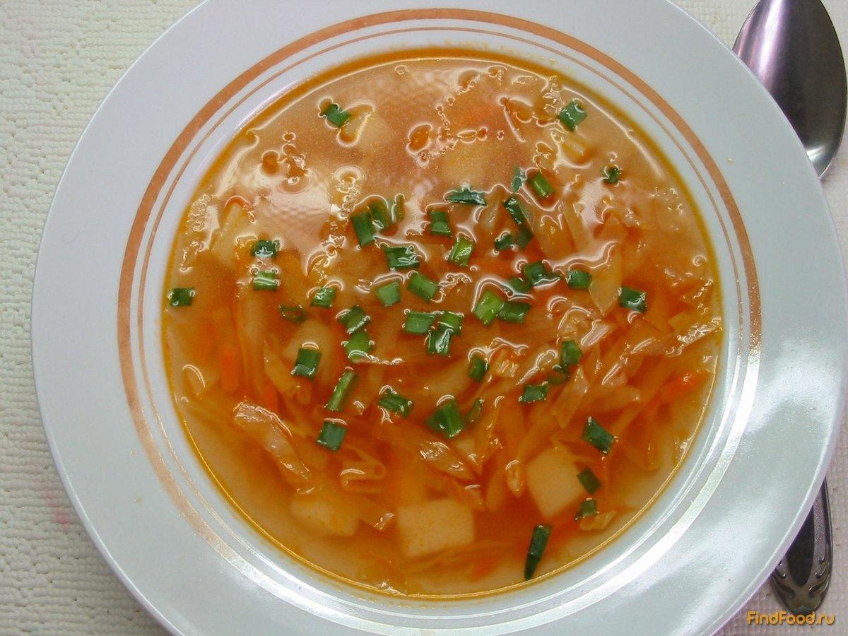 Рецепт щи с квашеной капустой