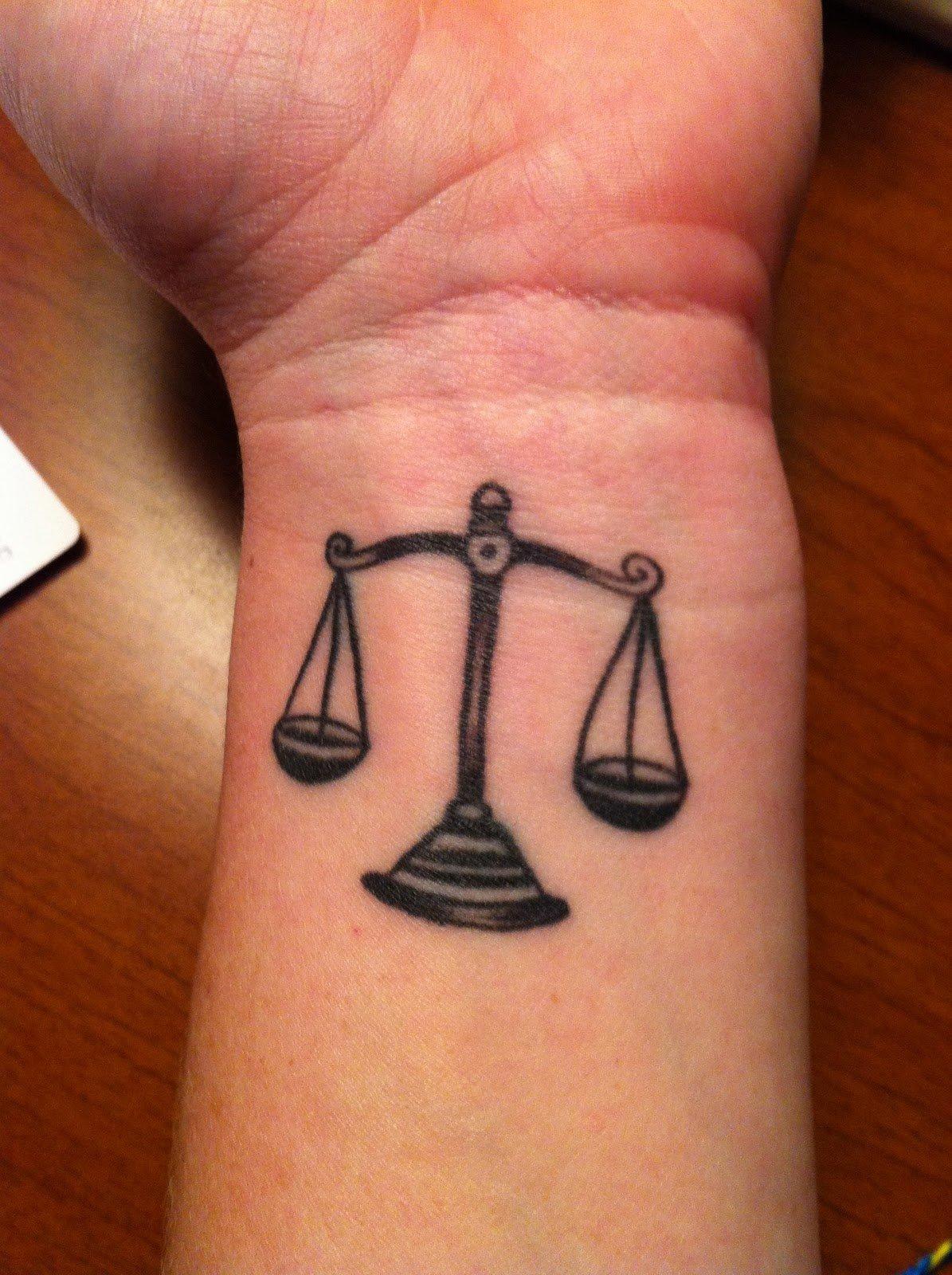 Татуировки знака зодиака весов фото