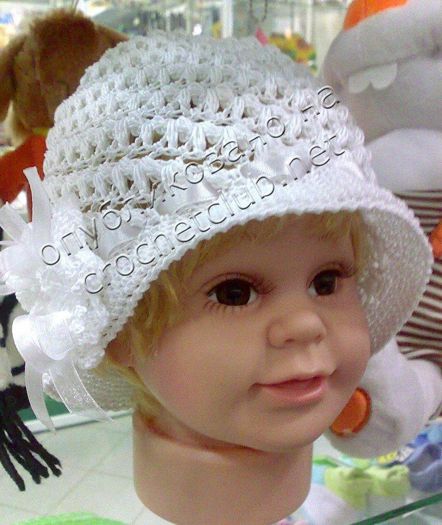 Вязание летние шляпки панамки