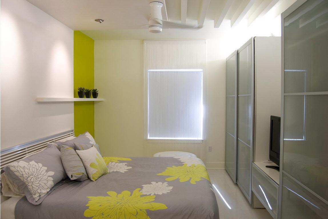 Мансардная крыша дизайн комнат 7