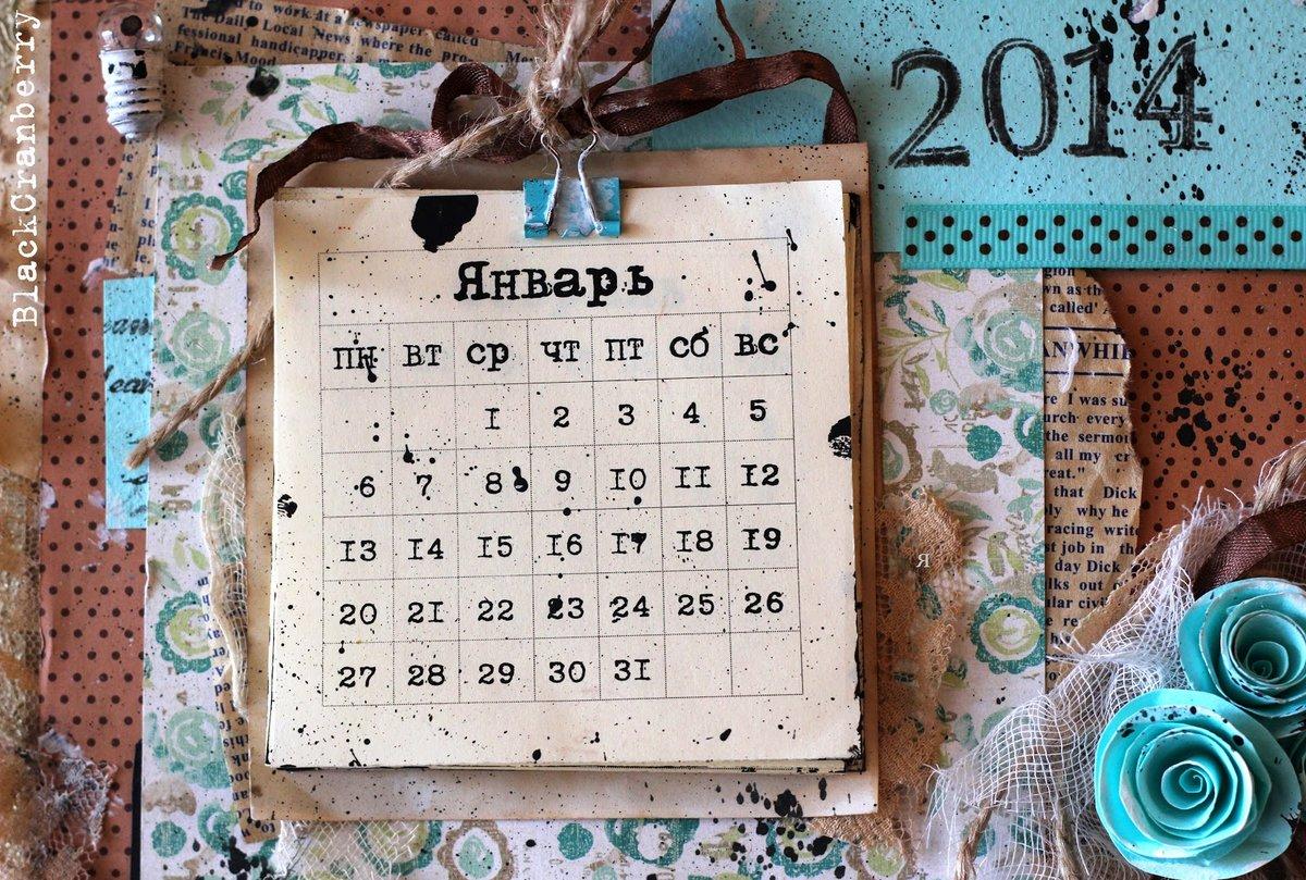 Своими руками настенный календарь 101