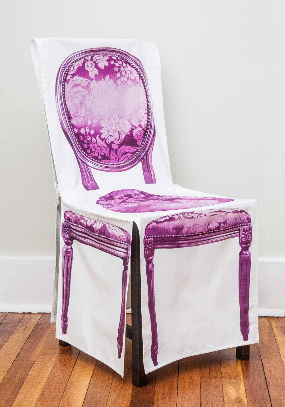 Декор старых стульев тканью