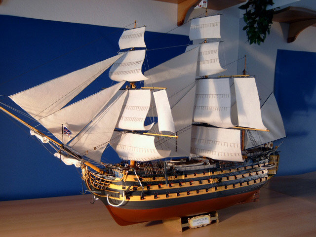 Макеты парусного корабля своими руками 13