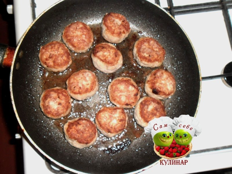 Тефтели на сковороде рецепт пошагово