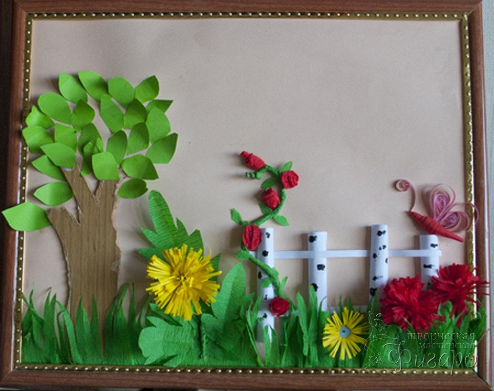 Поделки в детский сад из бумаги