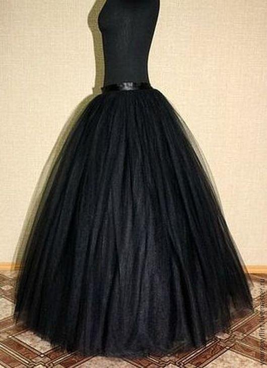 Длинная юбка из фатина своими руками