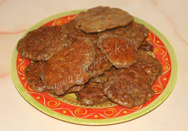 Очень вкусные печеночные котлеты из свиной рецепт