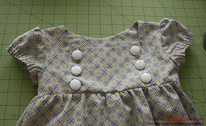 Шьём платье для девочки на весну - карточка от пользователя olkatreugolka1988 в Яндекс.Коллекциях
