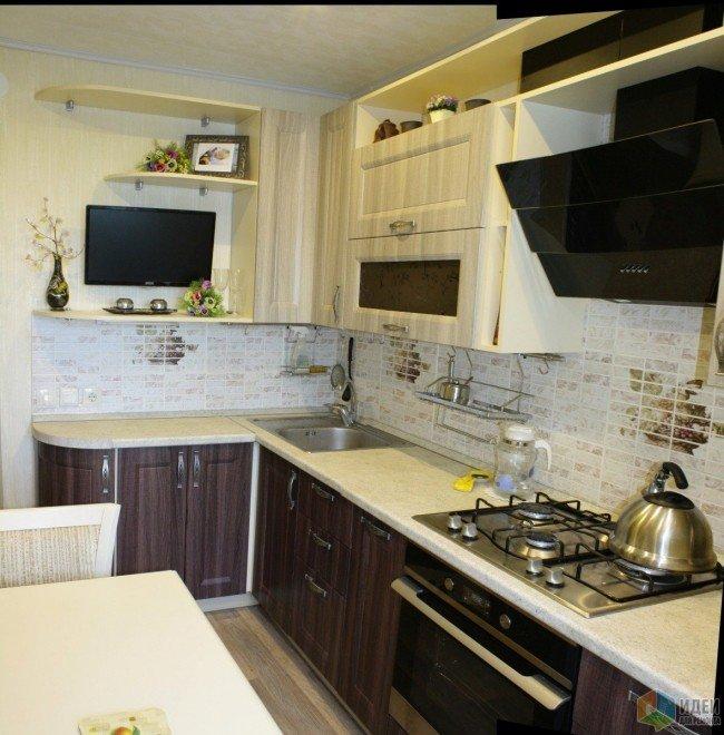 Ремонт кухни 8 квм фото своими руками фото 2
