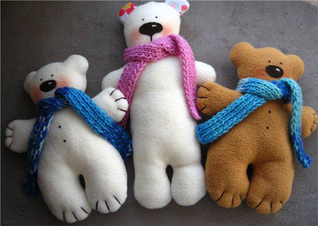 Мишка игрушки своими руками