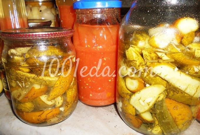 Рецепт огурцов на зиму дольками